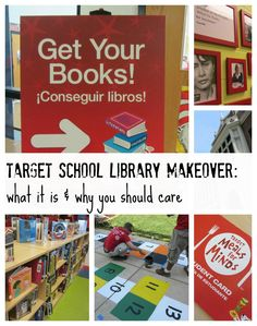 target school library makeovers:  what they are and why you should care | @Target book list & more | vlog
