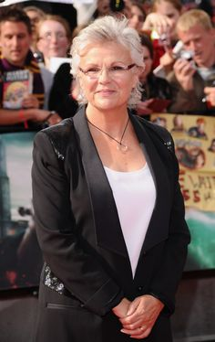 Julie Walters Photos - Actress Julie Walters attends the World Premiere of Harry Potter and The Deathly Hallows - Part 2 at Trafalgar Square on July 2011 in London, England. - Harry Potter And The Deathly Hallows - Part 2 - World Premiere Harry Potter Cast, Harry Potter Love, Mamma Mia, Amanda Seyfried, Meryl Streep, British Actresses, Actors & Actresses, Deathly Hallows Part 2, Julie Walters