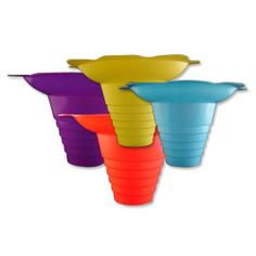 Mixed Case Snow Kone Flower Cups, 250 of each color - 1,000 count by Snappy Popcorn. $169.00. 8oz Plastic Cup. Mixed Colors. One sleeve of 250 of Yellow and Blue, 2 Sleeves of 250 of Red - 1000 total flower cups. Give the shaved ice mixed colors flower cups a try in your business and you will be amazed on how they increase your sales and profits. Most people will charge at least 50 cents to a dollar more per shaved ice over using a plain Styrofoam cup. 8 ounce: 6 1/2 ...