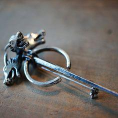 Viserys Targaryen's House Pin  Game of Thrones by Mustmerch