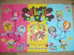 Periódico mural ABRIL   classroom   Pinterest                              …