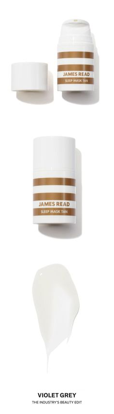 James Read Sleep Mask Tan | Sleep Mask Tan is a completely new innovation that combines skin-beautifying ingredients with a touch of self-tan. | Shop now on #VioletGrey, The Industry's Beauty Edit