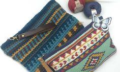 A nice design of a handbag pattern. Basic Crochet Stitches, Crochet Basics, Crochet Patterns, Designer Leather Handbags, Black Leather Handbags, Diy Handbag, Handbag Patterns, Handbag Organization, Crochet Handbags
