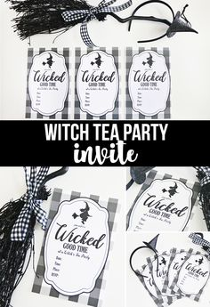 Printable Witch Tea