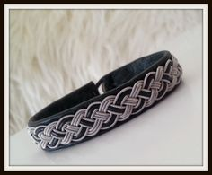Lapland Sami Bracelet Reindeer leather Custom made by liten82, $53.00