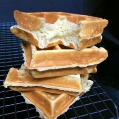 Hawaii Mom Blog: Mochi Waffles