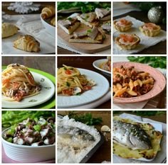 Fish based mostly menu, solely fish-based recipes of appetizers, first and second programs, supreme for the Christmas holidays. Slow Cooker Fish Recipes, Meat Recipes, Appetizer Recipes, Dinner Recipes, Appetizers, Italian Fish Recipes, Tilapia, Menu, Supreme