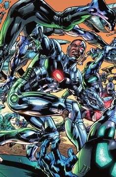 Bryan Hitch's Variant Covers for JUSTICE LEAGUE OF AMERICA #1 Revealed - Comic Vine