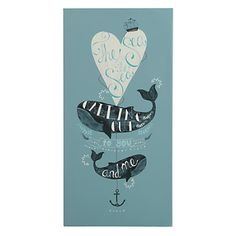 Land of Nod - so much cute stuff. The sea is calling you and me print.