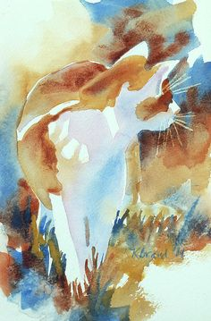 2004 Cat on the Prowl by Kathy Braud