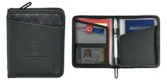 Elleven™ Traverse RFID Passport Wallet #wallet #passport #promotionalproducts