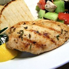 Greek Grilled Chicken, Feta Chicken, Yogurt Chicken, Greek Chicken Recipes, Cheese Stuffed Chicken, Grilled Chicken Recipes, Oregano Chicken, Chicken Souvlaki, Recipe Creator