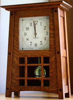Amish McCoy Mantle Clock Amish Clocks Collection This beautiful Amish handcrafted McCoy Mantel Clock features two distinct chimes and operates on one C battery! This makes an excellent gift for Craftsman Clocks, Craftsman Furniture, Amish Furniture, Bedroom Furniture, Craftsman Style, Craftsman Homes, Mantel Clocks, Wood Clocks, Antique Clocks