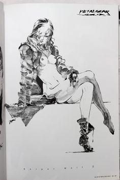 #0013 - The Art Of Metal Gear Solid 1.0 (Signed by Yoji Shinkawa) (10)