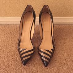 Christian Louboutin pumps Worn twice. 100 mm Pvc pigalle - sold out everywhere Christian Louboutin Shoes Heels