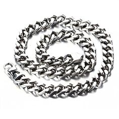 LOPEZ KENT Stainless Steel Necklace for Men Skull Necklace Pendant Skeleton Hand Silver Necklace Chain