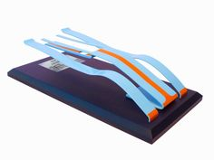 A handmade and painted aluminium form sculpture by Dave Clark, based on the Porsche 917, and raced by the legendary five times Le Mans winner Derek Bell. The sculpture is limited to a run of 50 and is offered with a choice of bases. They are shipped in bespoke made packaging.