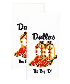 Look what I found on #zulily! Dallas Towel - Set of Two #zulilyfinds