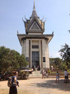 Memorial Stupa at the Killing Fields Memorial Stupa at the Killing Fields in Choeung Ek, Phnom Penh