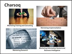 Charsoq is the beating heart of the marketplace, the Business center. Prosperity of Charsoq means the dynamism of economy.  First Soq: Marketing Training and Consulting  Second Soq: Marketing Implementation Third Soq: Marketing Research Forth Soq: Marketing Information System and Business Intelligence