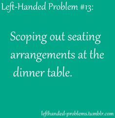 too much time is spent figuring this out, and then people get angry when you demand a specific seat