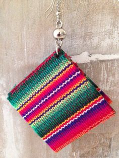 NEW earrings from Peru!!!  Now online