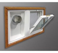 Awesome Basement Window with Dryer Vent Hole