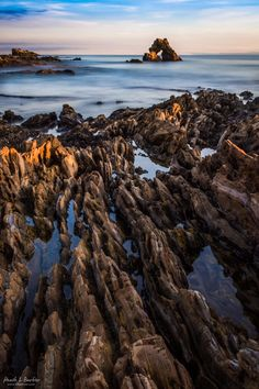 Last Light in Little Corona CA [OC][3712x5568]   landscape Nature Photos