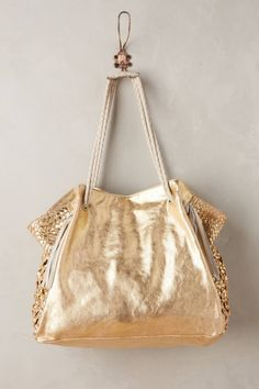 Goldcoast Fringed Tote by Claramonte #anthrofave #anthropologie
