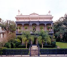A restored Italianate home in New Orleans by designer Richard Keith langham.