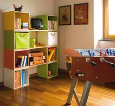 Love these colorful kids storage cubes. For more kids storage furniture and organizing ideas visit foodstoragerooms Kids Storage Furniture, Food Storage Rooms, Storage Room Organization, Kids Room Furniture, Cube Storage, Bedroom Storage, Diy Storage, Furniture Plans, Organization Ideas