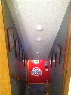 Love OHio State? Put a decal at the end of ur basement ;)