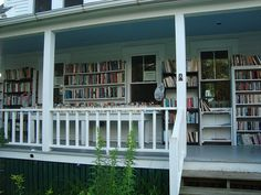 An Incredible Used Bookstore Boothbay Harbor, Maine....went here a lot with the Fairfields