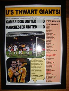 Cambridge United 0 Manchester United 0 - 2015 FA Cup Fourth Round - framed print Lilywhite Multimedia http://www.amazon.co.uk/dp/B00Z0CCUF6/ref=cm_sw_r_pi_dp_50A8vb12XVAF3