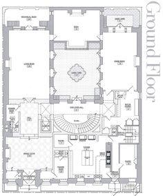 Academy Mansion Ground Floor Plan