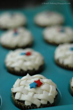 i heart baking!: fourth of july cupcakes