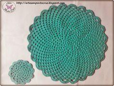 Oi amadas!! Fiz um Sousplat e um Coasters em crochê. Há muito tempo que queria fazer,acho lindo! A Rose faz muitos e sempre admiro,... Crochet Earrings, Crochet Ideas, Coasters, Jewelry, Cup Holders, Crochet Doilies, Crocheting Patterns, Tricot, Scrappy Quilts