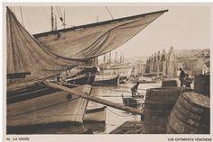 The Grand arsenal (Venetian shipyards) at Chania....1919 BAUD-BOVY/ BOISSONNAS Collection: Aikaterini Laskaridis Foundation Arsenal, Crete Island, Heraklion, Simple Photo, Great Photographers, Timeline Photos, Old Pictures, Venetian, Budapest