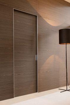 QUADRA Pocket sliding door by ALBED by Delmonte design Massimo Luca