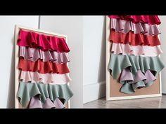 Flecos retorcidos /& Decorativo Plata Metálica Vestido recorte de la decoración