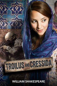 TROILUS AND CRESSIDA (2012): Tala Ashe as Cressida.  Photo by Jenny Graham. Yes, this was pretty epic. But the ending is bullshit & unsatisfactory. (The fault lies not with the production, but with the author. I'm looking at YOU, Master Shakespeare.)