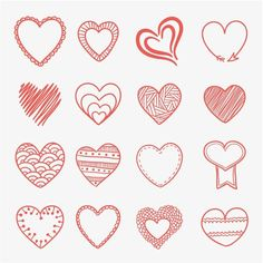 Happy Valentines Day Love Hearts Background - free vector download for commercial use Download free vector graphic & images | cgvector