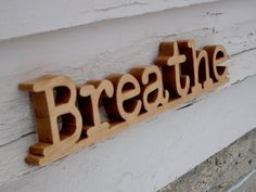"""Breathe...""""Breathe. Let go. And remind yourself that this very moment is the only one you know you have for sure."""" Oprah Winfrey"""
