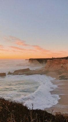 24 Feb 2020 - Where the sea meets the sky ++ Sunset Horizon Beach Cliff Mist ++ Where the sea meets the sky ++ Sunset Horizon Beach Cliff Mist ++ Landscape Photography Tips, Nature Photography, Travel Photography, Photography Aesthetic, Canon Photography, Beach Photography, Photography Ideas, Beach Aesthetic, Travel Aesthetic