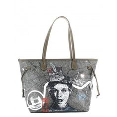 e64caf31f7a14 Collezione autunno inverno 2016 · Borsa donna Y Not E-319 Shopping Bag M  London