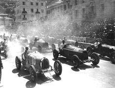 Bugatti sfida Alfa Romeo Grand Prix di Monaco
