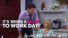 """S1 Ep10 """"The Killer Returns"""" - At least Holly has a friend to bring! #MysteryGirls"""