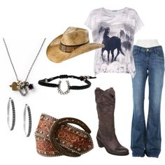 A Little Country Fun, created by idahocowgirl.polyvore.com