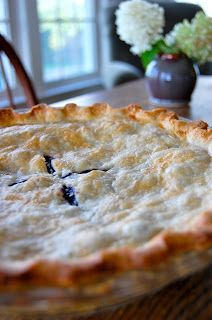 Saying Grace: Blueberry Pie