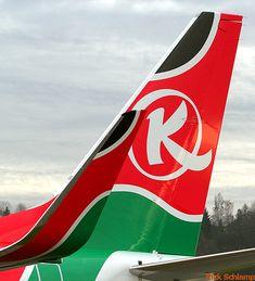Kenya Airways 5Y-KYC Winglet & Tail | Flickr - Photo Sharing!